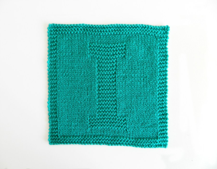 I dishcloth pattern alphabet dishcloth knitting pattern ohlalana