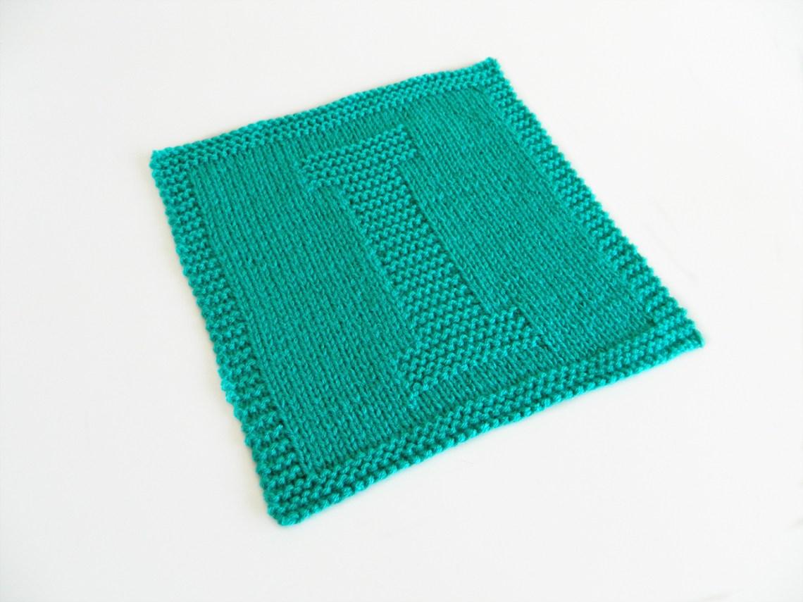 I dishcloth pattern alphabet dishcloth knitting pattern ohlalana