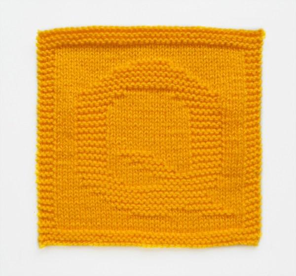 Q dishcloth pattern alphabet dishcloth knitting pattern ohlalana Q letter knitting pattern