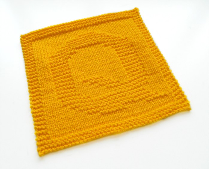 Q dishcloth pattern alphabet dishcloth knitting pattern ohlalana Q letter knitting pattern