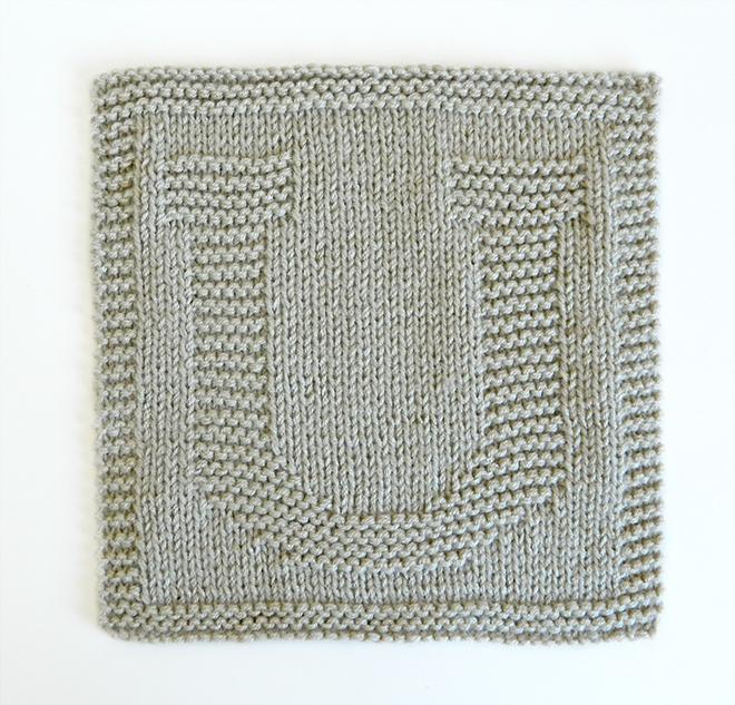 U dishcloth pattern alphabet dishcloth knitting pattern ohlalana U letter knitting pattern