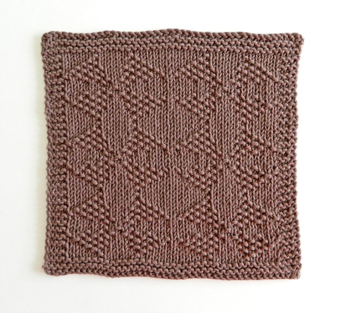 MOLINOS stitch knitting pattern 52 SQUARE PICKUP knitted blanket MOLINOS knitting pattern OhLaLana dishcloth free pattern