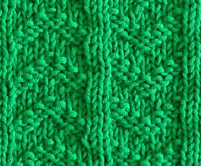 UP AND DOWN stitch knitting pattern 52 SQUARE PICKUP knitted blanket UP AND DOWN knitting pattern OhLaLana dishcloth free pattern