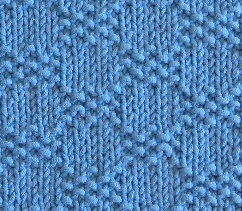 SEED BOXES stitch knitting pattern 52 SQUARE PICKUP knitted blanket SEED BOXES knitting pattern OhLaLana dishcloth free pattern