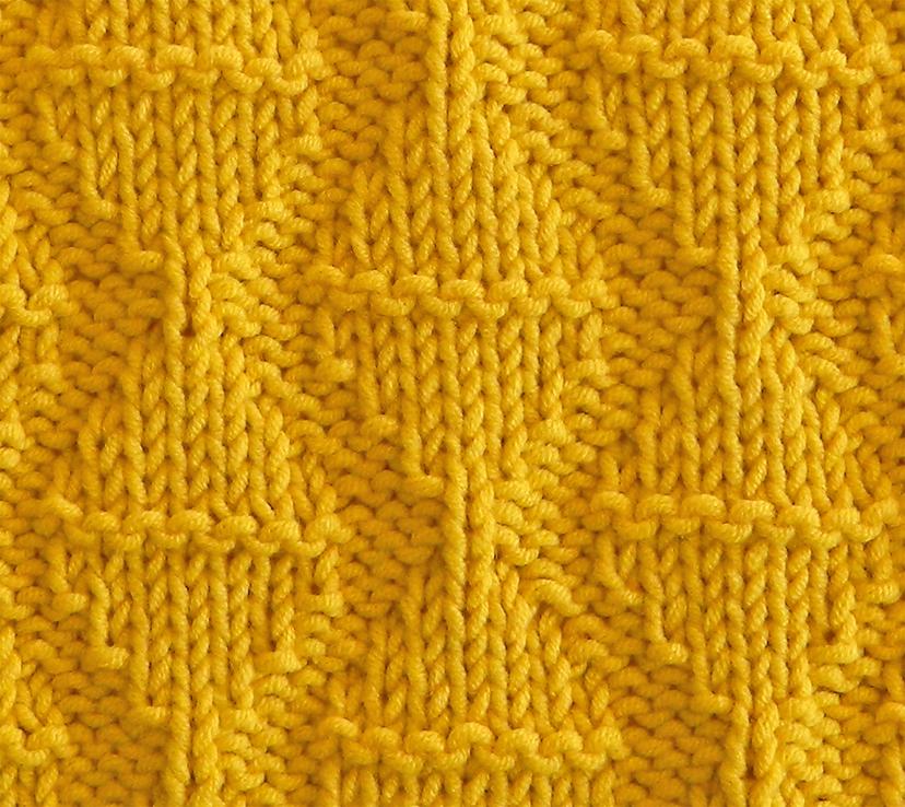 HOURGLASS stitch knitting pattern 52 SQUARE PICKUP knitted blanket HOURGLASS knitting pattern OhLaLana dishcloth free pattern