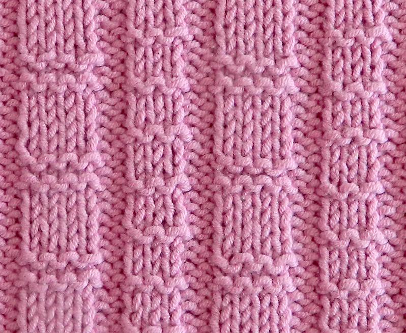 STACKS stitch knitting pattern 52 SQUARE PICKUP knitted blanket STACKS knitting pattern OhLaLana dishcloth free pattern