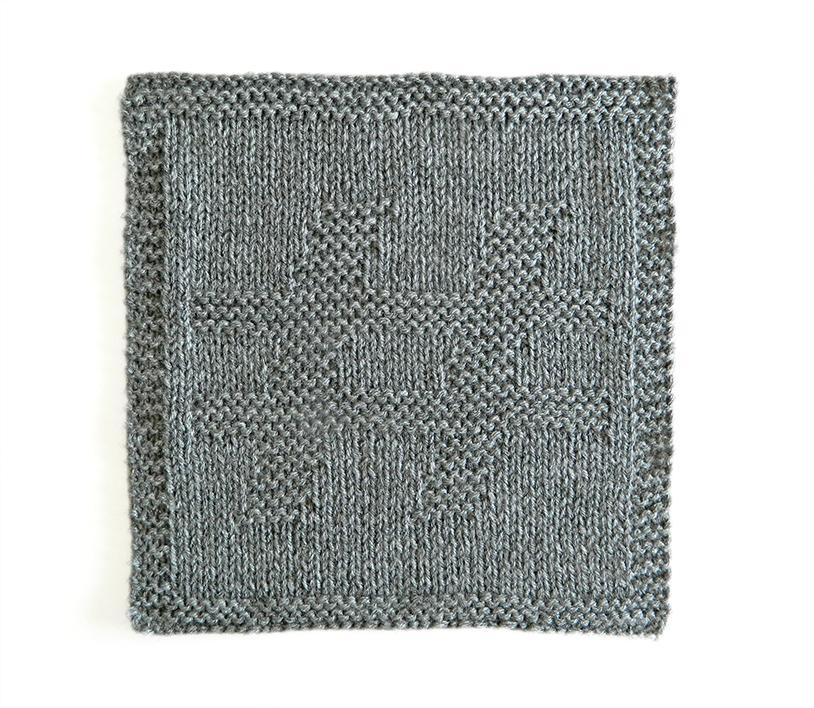 HASH dishcloth pattern HASH knitting pattern ohlalana HASH block