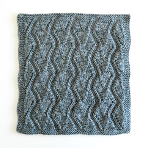 LACE N°6 pattern, lace dishcloth, lace knitting pattern, lace free pattern