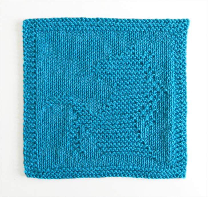 HORSE dishcloth, HORSE pattern, BEGINNER BLANKET MKAL 2020, HORSE dishcloth pattern, HORSE knitting pattern, OhLaLana dishcloth free pattern