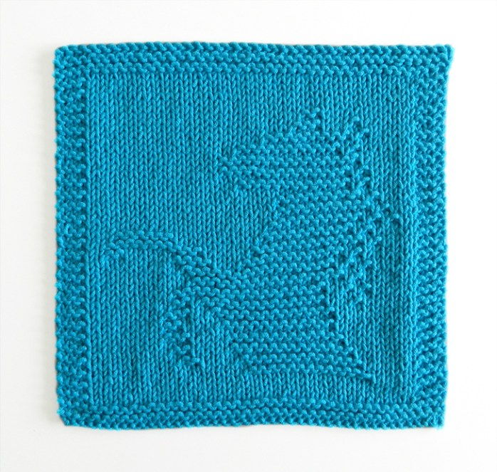 HORSE dishcloth, HORSE pattern, BEGINNER BLANKET MKAL 2020, HORSE dishcloth pattern, HORSE knitting pattern, OhLaLana dishcloth free pattern