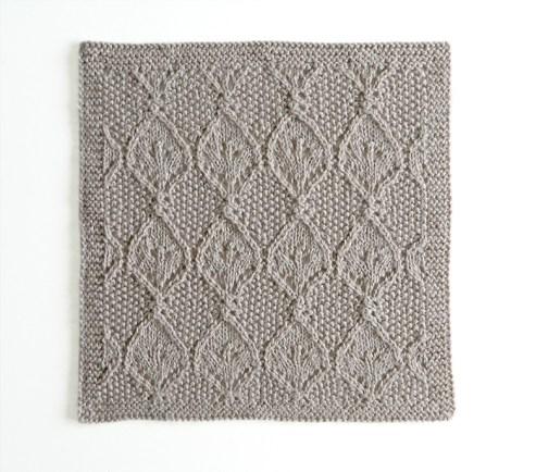 LACE N°11 pattern, lace dishcloth, lace knitting pattern, lace free pattern