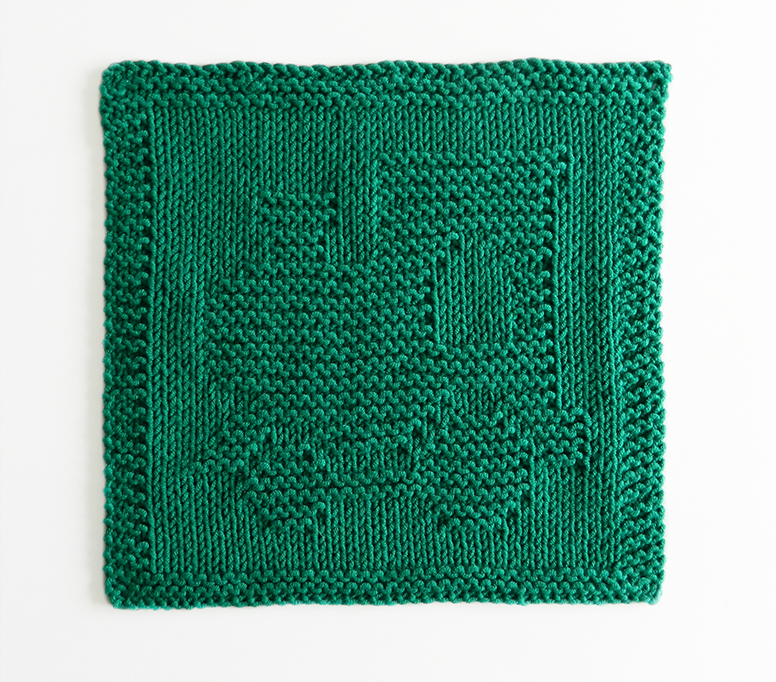 LOCOMOTIVE dishcloth, TRAIN pattern, BEGINNER BLANKET MKAL 2020, PUFFER TRAIN dishcloth pattern, TRAIN ENGINE knitting pattern, OhLaLana dishcloth free pattern