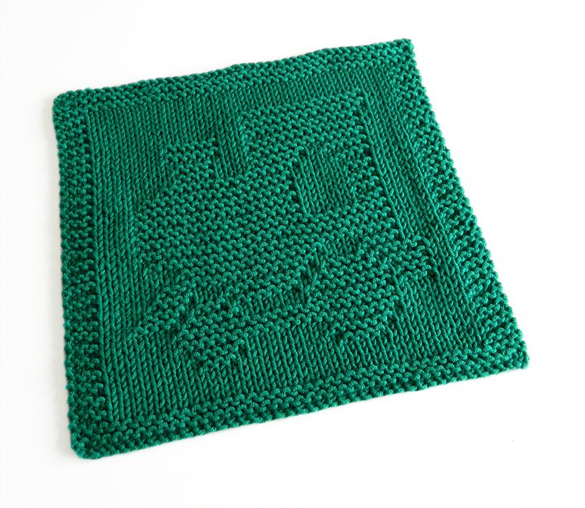 LOCOMOTIVE dishcloth, TRAIN pattern, BEGINNER BLANKET MKAL 2020, PUFFER TRAIN dishcloth pattern, TRAIN ENGINE knitting pattern, OhLaLana dishcloth free pattern