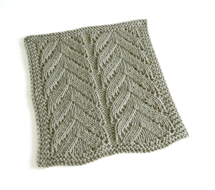 lace dishcloth, lace knitting, lace knit dishcloth, lace block, lace square, ohlalana