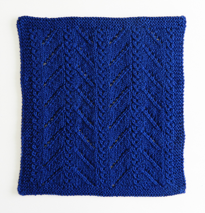LACE N°13 pattern, lace dishcloth, lace knitting pattern, lace free pattern
