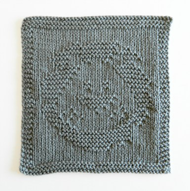 LION knitting pattern, LION dishcloth, LION HEAD pattern, BEGINNER BLANKET MKAL 2020, LION HEAD knitting pattern, LION HEAD dishcloth, OhLaLana dishcloth free pattern