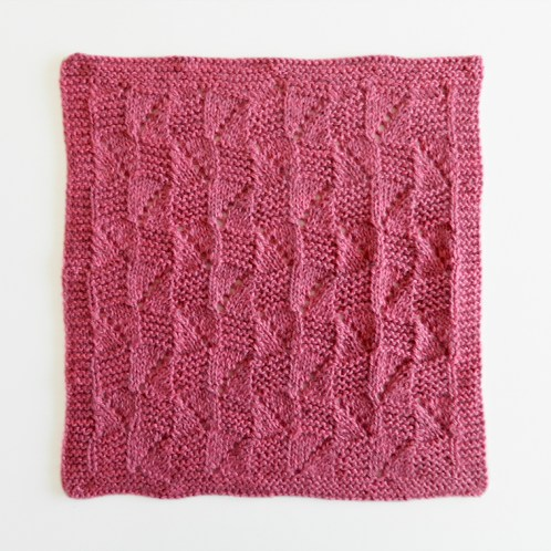 LACE N°15 pattern, lace dishcloth, lace knitting pattern, lace free pattern, lace pattern 15, ohlalana