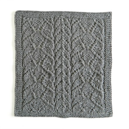 LACE N°16 pattern, lace dishcloth, lace knitting pattern, lace free pattern, lace pattern 16, ohlalana