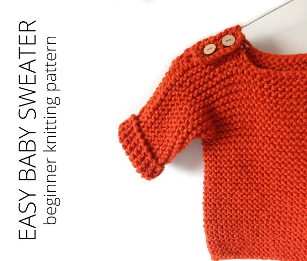 Baby Sweater Knitting Pattern for beginners, CHALTEN easy baby sweater knitting pattern, chalten sweater, chalten pullover, beginner baby sweater knitting pattern, baby pullover, ohlalana
