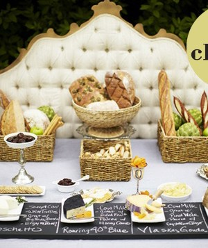 serving cheese at your wedding | oh lovely day