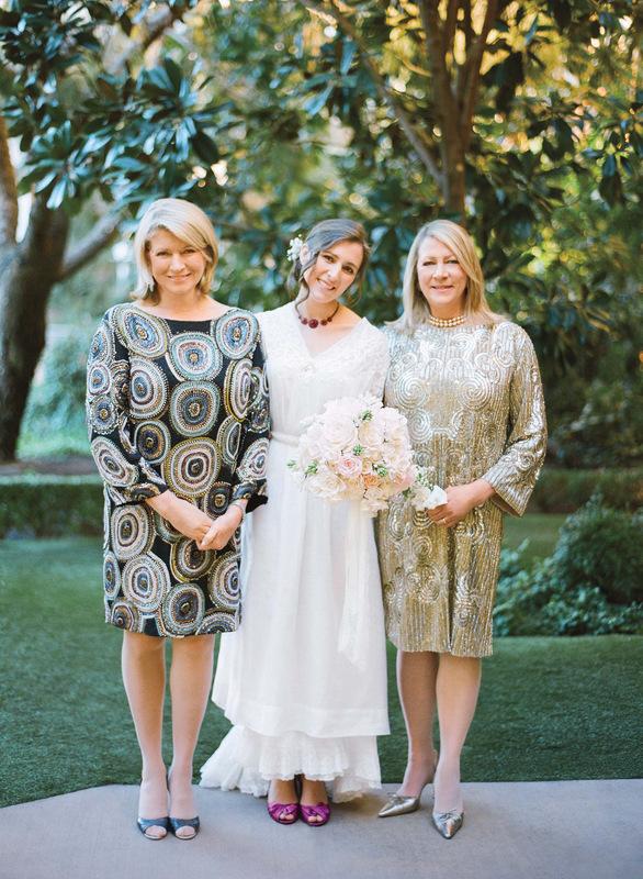 Vanessa and Joes California Real Wedding - Martha Stewart
