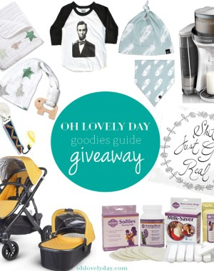 Oh Lovely Day goodies guide giveaway | ohlovelyday.com