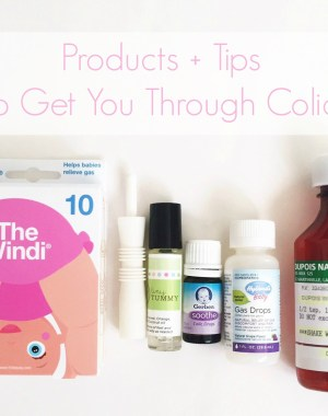 Products and tips to get you through infant colic from a mom who has been there. Colic is the worst and anything that helps is worth a try!