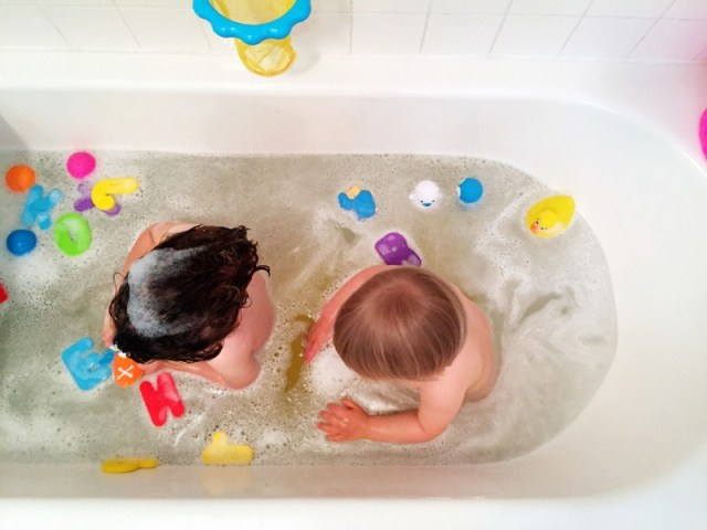 Bathtime Fun With Toddlers