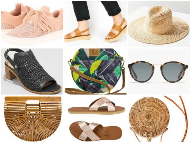 Shoes + Accessories | Spring/Summer capsule wardrobe | ohlovelyday.com
