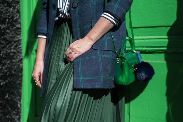 En modo azul y verde