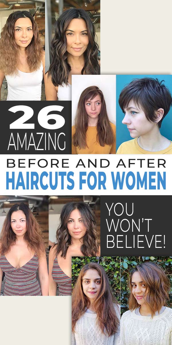 Before And After Haircuts : before, after, haircuts, Amazing, Before, After, Haircuts, Women,, Won't, Believe!, OhMeOhMy