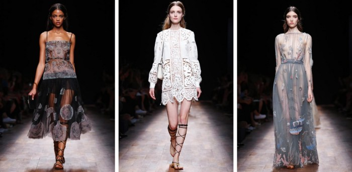 Valentino Ready to Wear Spring Summer 2015 in Paris