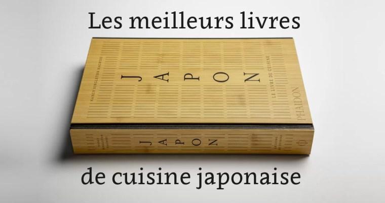Cuisine japonaise : les meilleurs livres de 2020