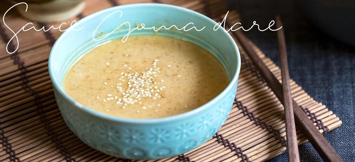 Sauce Goma-dare au sésame