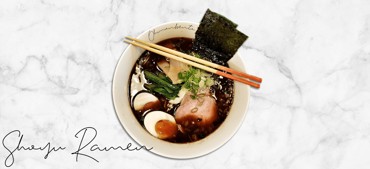 Shoyu ramen traditionnel
