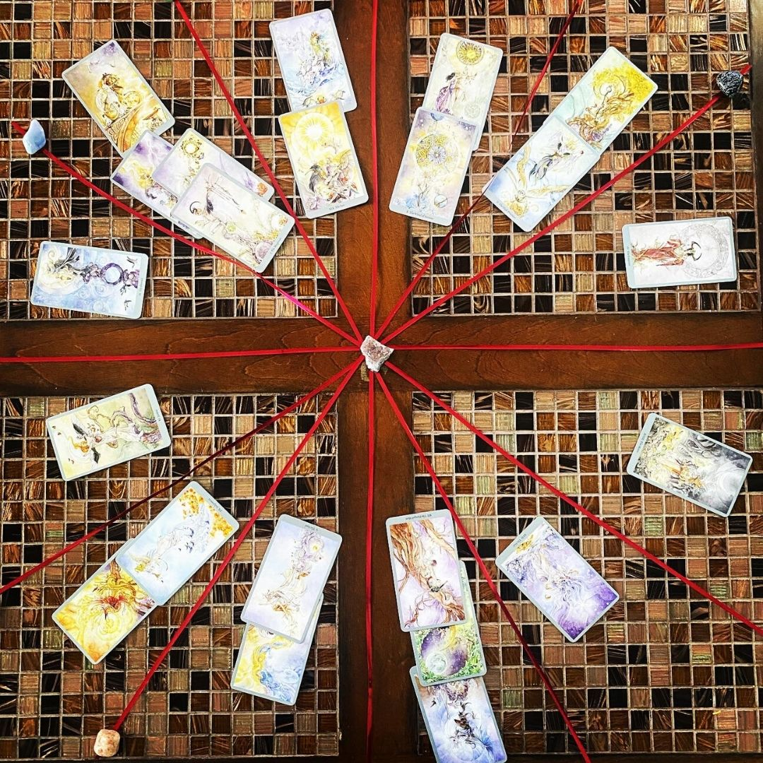 Natal Chart Tarot Spread Finding Your Soul With Tarot