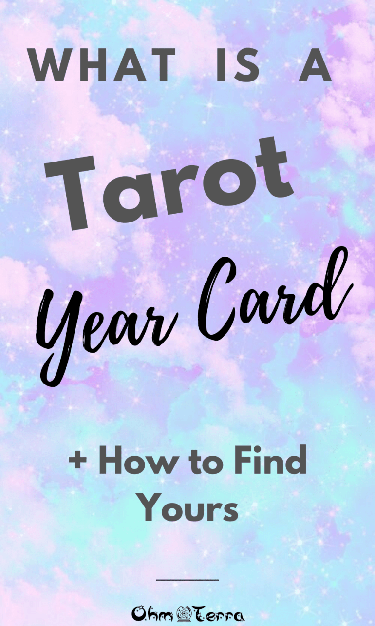 Tarot Year Cards- Finding Your Soul with Tarot Part 2