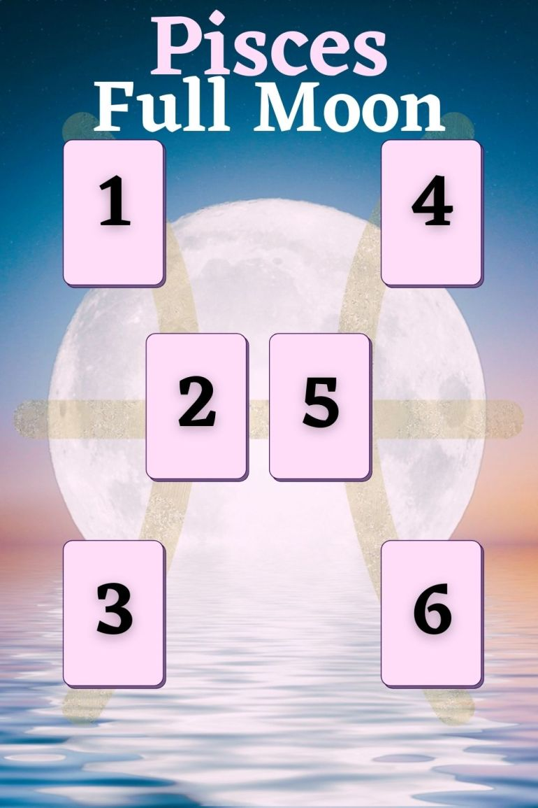 A Tarot Spread for the Pisces Full Moon