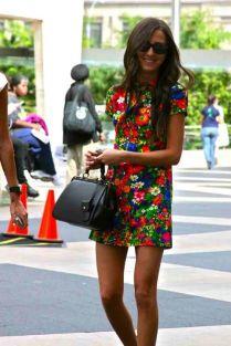 Krásný vzor na šatech