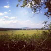 Jihomoravská panoramata :-) je tam nádherně!