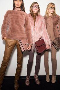 Gucci: Hnědá a růžová a chlupatice... pořád nemám ten kožich!