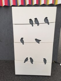 Ptáčková komoda od Grung design