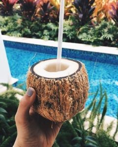 Jus de noix de coco