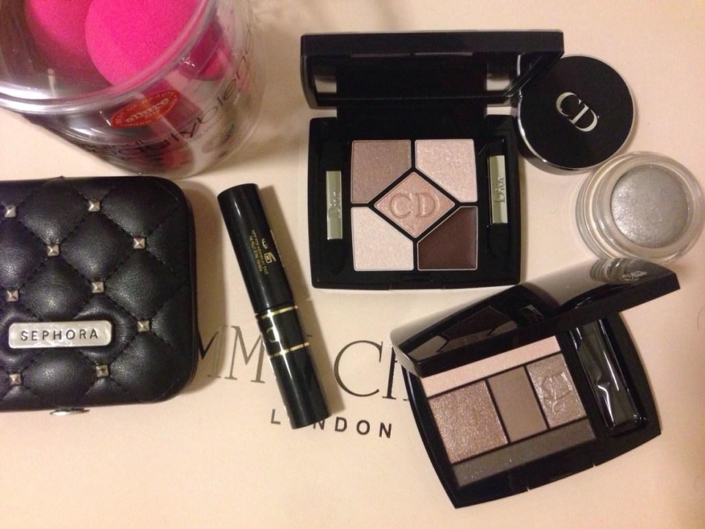 Dior, Lancôme, Sephora, beautyblender, Dulce & Gabbana.