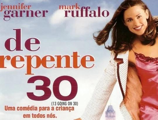 De Repente 30 comédia romântica com Jennifer Garner