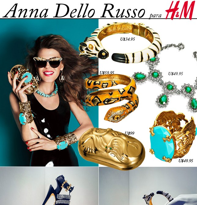 Coleção Anna Dello Russo para H&M blog de moda