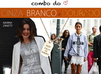 look combo do coracao cinza branco e dourado streestyle blog de moda oh my closet get the look aimee song oqvestir