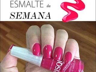 amarracao para o amor risque esmalte da semana blog de moda oh my closet risque esmalte rosa colorama rosa sucesso dicas moda