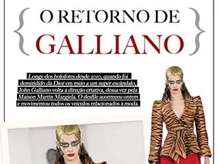 o retorno de galliano john galliano blog de moda oh my closet news maison martin margiela galliano desfile couture artisanal moda