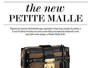 Conheça a Petite Malle Soft, da Louis Vuitton.